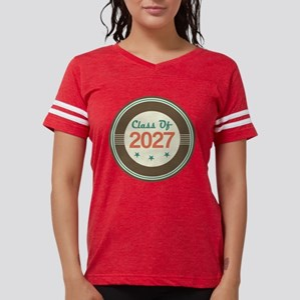 Class Of 2027 Vintage Womens Football Shirt