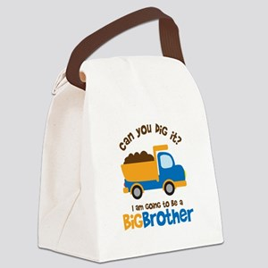 Dump truck Big Brother To Be Canvas Lunch Bag