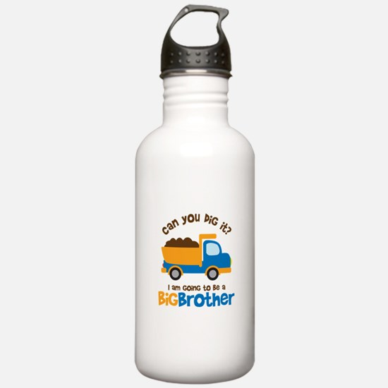 Dump truck Big Brother To Be Sports Water Bottle