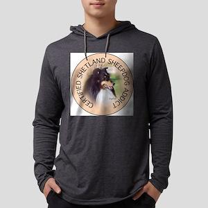 SHELTY202 Mens Hooded Shirt
