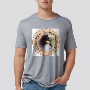 SHELTY202 Mens Tri-blend T-Shirt
