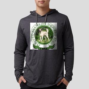 ANATOL106 Mens Hooded Shirt