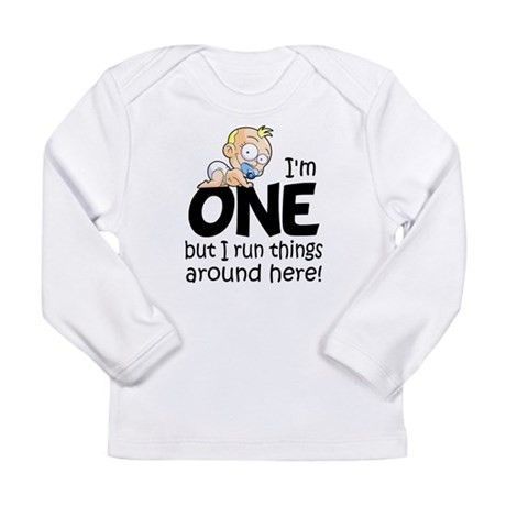 Funny I'm One Baby Shirt Long Sleeves