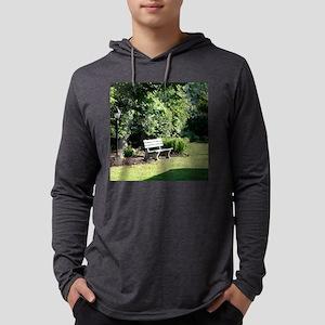 Occoquan park bench 10 10 Mens Hooded Shirt