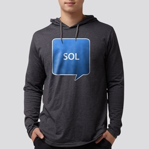 SOL1 Mens Hooded Shirt