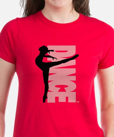 Beautiful Dance Figure Women's Dark T-Shirt