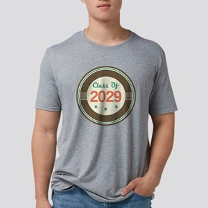 Class Of 2029 Vintage Mens Tri-blend T-Shirt