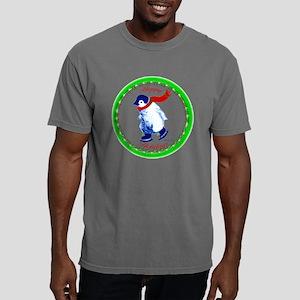 ZZHappyHolidays-Penguin- Mens Comfort Colors Shirt