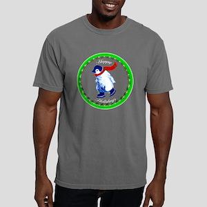 ZZZHappyHolidays-Penguin Mens Comfort Colors Shirt