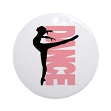 Beautiful Dance Figure Ornament (Round)