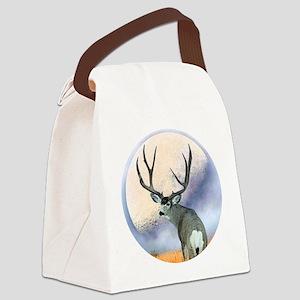 Monster buck Canvas Lunch Bag