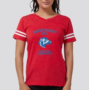 Scottish DeerhoundD Womens Football Shirt