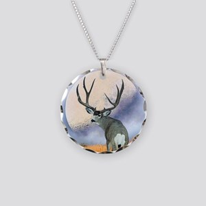 Monster buck Necklace Circle Charm