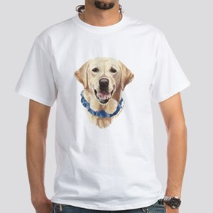 Shelby Yellow Lab White T-Shirt