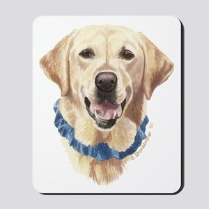 Shelby Yellow Labrador Mousepad