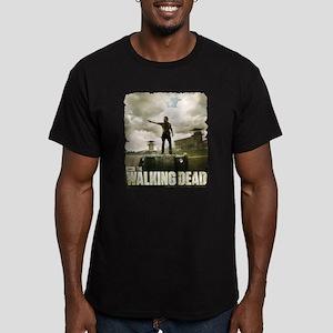 Walking Dead Prison Men's Fitted T-Shirt