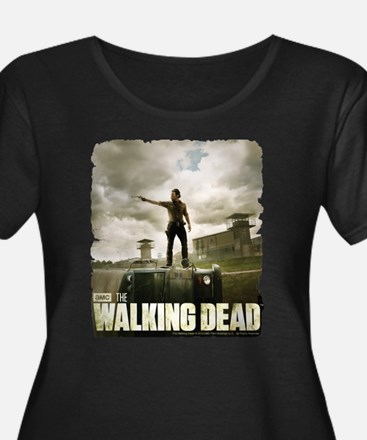 Walking Dead Prison Women's Plus Size T-Shirt