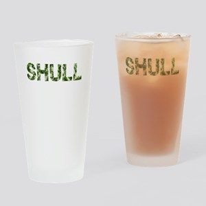 Shull, Vintage Camo, Drinking Glass