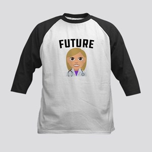 Future Doctor Kids Baseball Tee