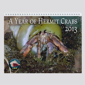 landhermitcrabs.com's 2013 Wall Calendar