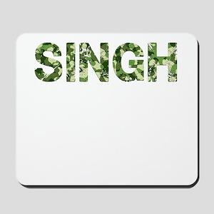 Singh, Vintage Camo, Mousepad