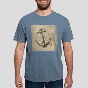 Vintage Anchor Mens Comfort Colors Shirt