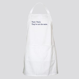 Their. There. They are. Apron