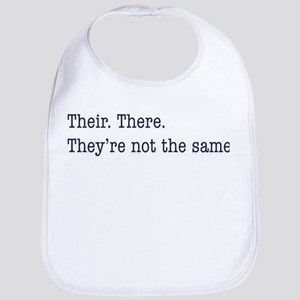 Their. There. They are. Bib