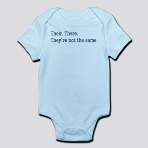 Their. There. They are. Infant Bodysuit