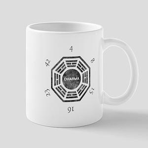 2-Dharma Clock Mugs