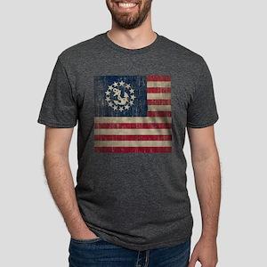 Vintage Yacht Flag Mens Tri-blend T-Shirt