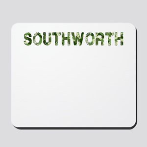 Southworth, Vintage Camo, Mousepad