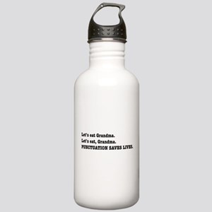 Punctuation Saves Lives Stainless Water Bottle 1.0