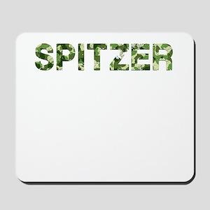Spitzer, Vintage Camo, Mousepad