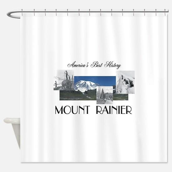 ABH Mount Rainier Shower Curtain