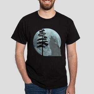 Gray Wolf Moon T-Shirt T-Shirt