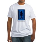 The Tarot Priestess Fitted T-Shirt