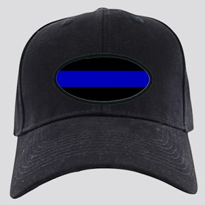 Thin Blue Line Black Cap