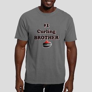 #1 Curling Brother Mens Comfort Colors Shirt