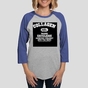 2-collagen1-BUT Womens Baseball Tee