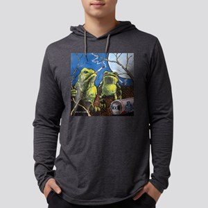 Angry-4 Mens Hooded Shirt