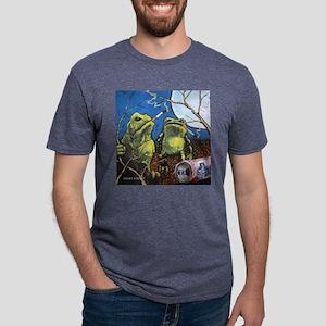 Angry-4 Mens Tri-blend T-Shirt