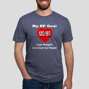 blood_pressure_myideal_tran Mens Tri-blend T-Shirt