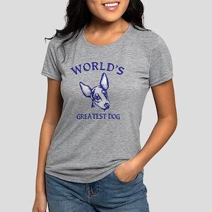 Toy Manchester TerrierH.p Womens Tri-blend T-Shirt