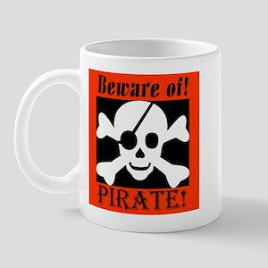 Beware of Pirate Mug