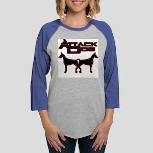 Attack Dog Womens Baseball Tee