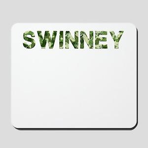 Swinney, Vintage Camo, Mousepad