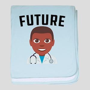 Future Doctor baby blanket