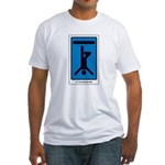 The Hanged Man Fitted T-Shirt