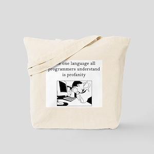 Programmers Profanity Tote Bag